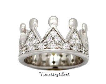 Anillo anillo princesa/princesa/corona Tiara por llustrJewelry