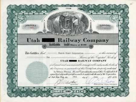 47 best Sandy Kress - Stock Certificates images on Pinterest - example of share certificate