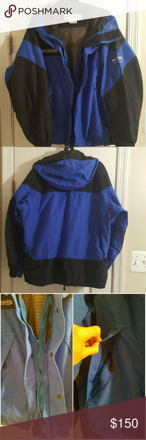 Men's Columbia titanium jacket In like-new condition  Double zipper, button front. Multiple pockets (as pictured)  These jackets sell for $280 on Columbia's site ***Remember when making an offer that posh takes a little over 20% of my final sale price*** Columbia Jackets & Coats Ski & Snowboard