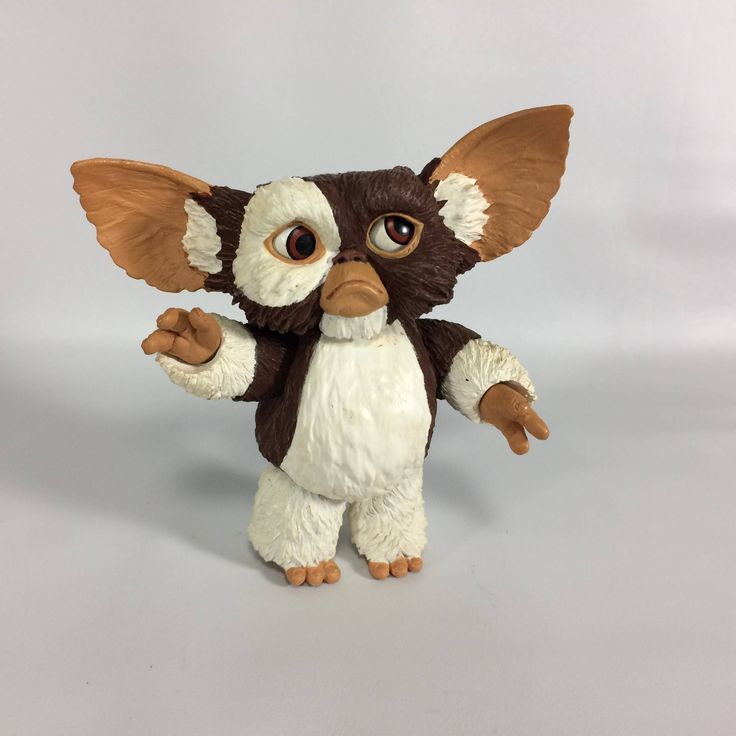 Gremlins Gizmo Figure 3.5 inch Poseable Jointed Eyes Move Head Arms Ears CUTE The Gremlins Movie 1980s toys Desktop Toy Gremlin Gizmo Sad by KoolKoolThangs on Etsy