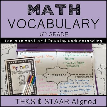 math dictionary for 5th grade