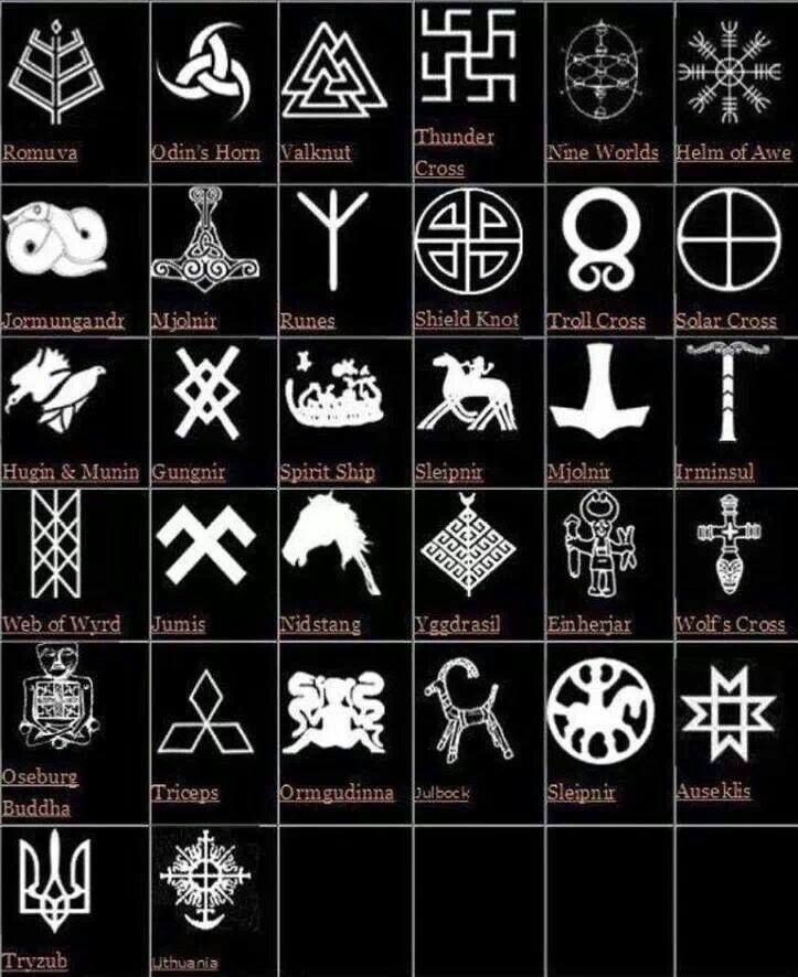 17 Best Ideas About Norse Symbols On Pinterest