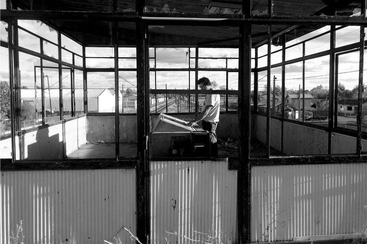 SALA MONITOREO.  Pablo, Estación de Ferrocarriles, Parral.
