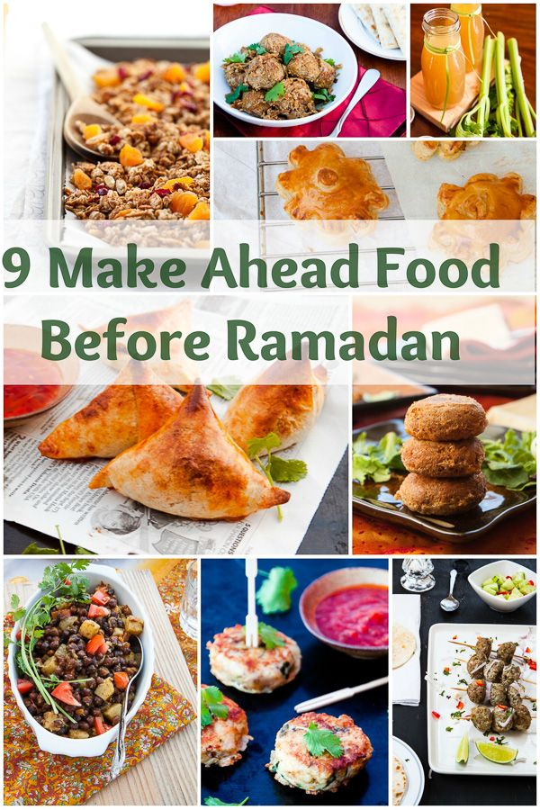 9 Make Ahead Food for Ramadan to Save You Time in the Kitchen During the Holy Month