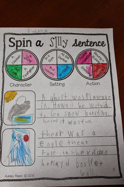 Silly Sentences & Smart Cookies - Just Reed
