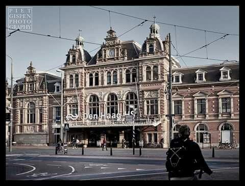 Station Hollands Spoor, foto Piet Gispen.
