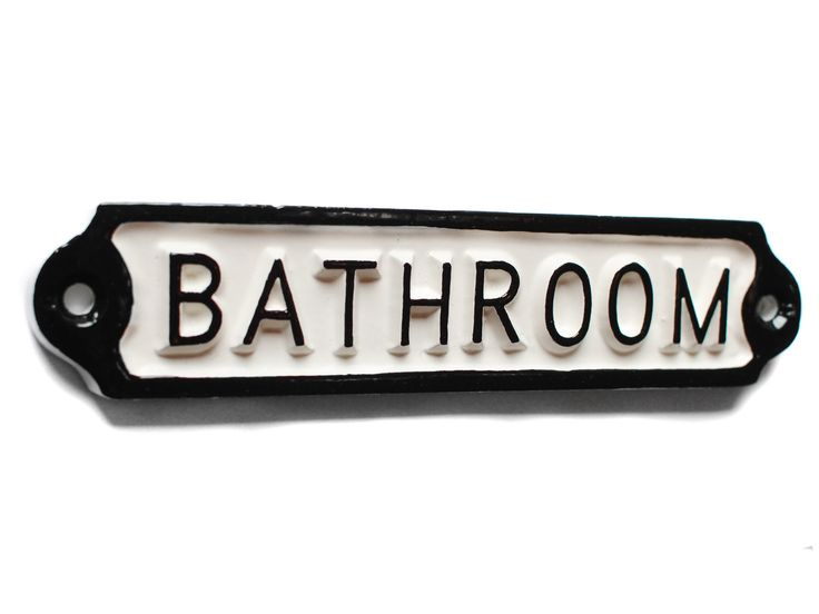 17 Best Images About Bathroom Door Signs On Pinterest Vintage Style Gentleman And Starfish