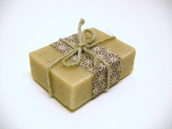 Organic soap  Honey and Oats handmade soap by botanicalsoap