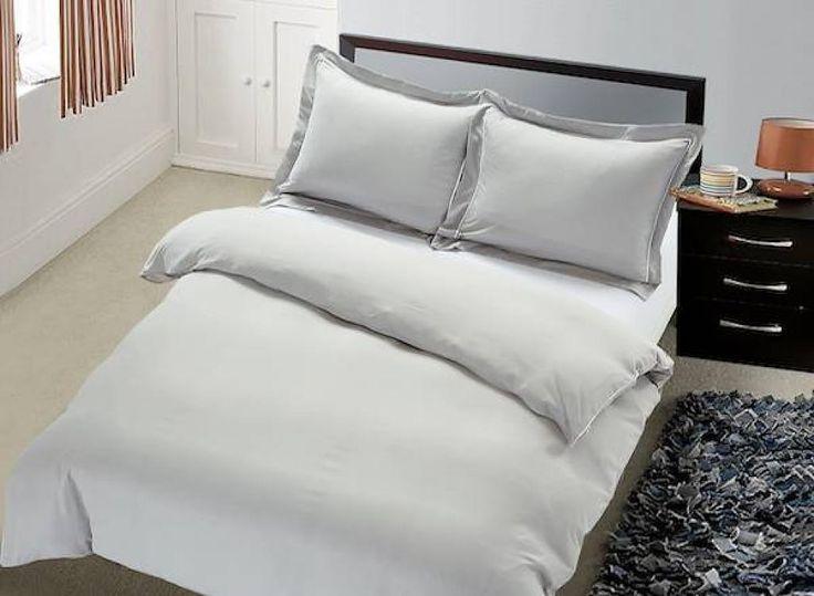 Hotel Bedding - Comfort - Zilver Grijs