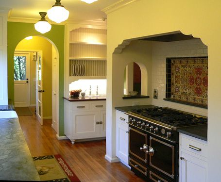 218 best images about spanish revival kitchens on for Colonial revival kitchen design