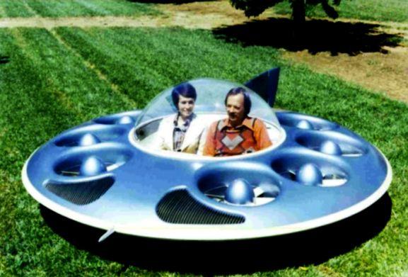 Gambar Teknologi Canggih - Flying Saucer