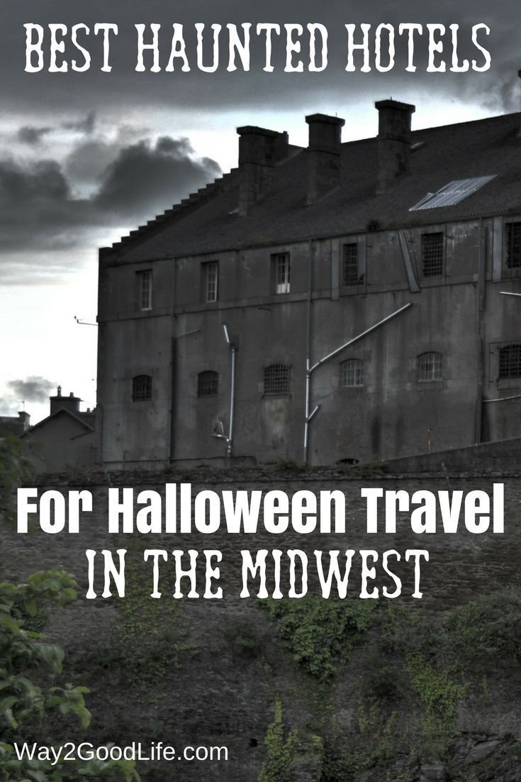 Check out our list of The Best Haunted Hotels for Midwest Travel! These are ideal for a fun Halloween getaway or a great paranormal trip!