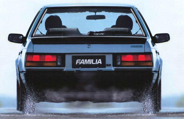 Mazda Familia Sedan (BF) '1985–87