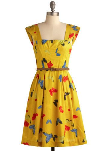ModclothDresses Pattern, Enchanted Entomologist, Prints Dresses, Spring Dresses, Dresses Style, Dresses #Mystyle, Butterflies Dresses, Retro Vintage, Entomologist Dresses
