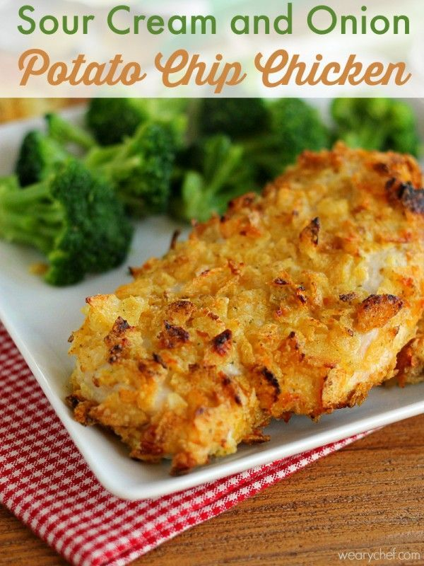 sour cream and onion potato chip chicken easy baked chicken baked ...