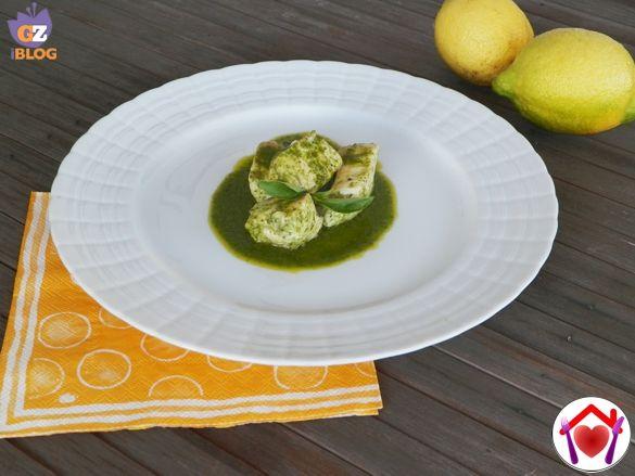 Bocconcini di pollo al basilico limone