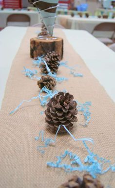 Rustic Woodland Baby Shower Party Ideas | Photo 12 of 24 | Catch My Party
