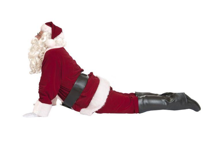 1000+ Images About Santa Yoga On Christmas On Pinterest