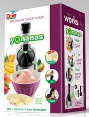 Yonanas Maker - got this for my hubby for Father's Day as he loves soft serve ice cream. This is the best! Your favorite fruit the consistency of soft serve! The bananas actually take on the flavor of the fruit it's mixed with. Combinations are endless.