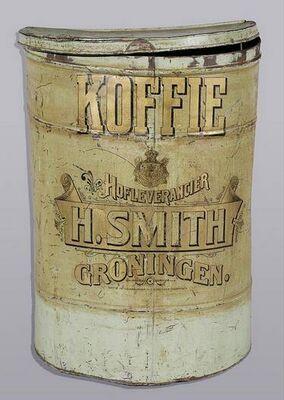 H. Smit Koffie Hofleverancier Groningen