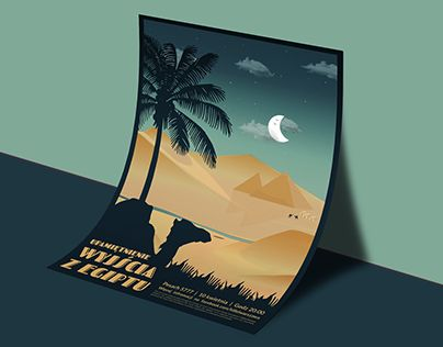 """Check out new work on my @Behance portfolio: """"Pesach Vintage - Poster & Book"""" http://be.net/gallery/52983429/Pesach-Vintage-Poster-Book"""