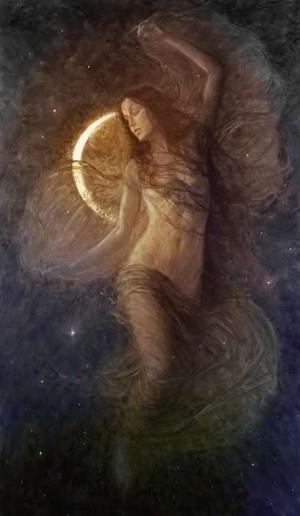 Los ciclos de la Luna siempre han estado asociados a las facetas de la mujer