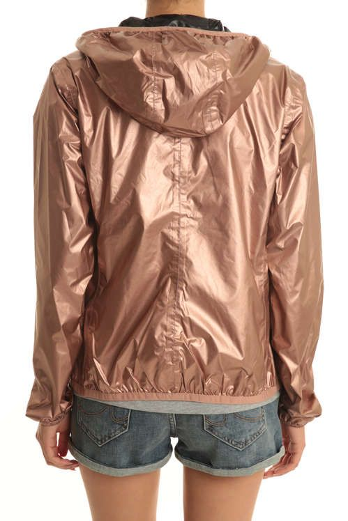 blouson lily double plus k way cuivre veste et manteau pret a porter femme