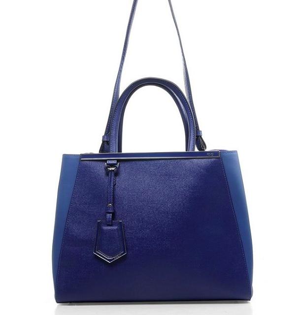 Fendi 2Jours Bag in cobalt blue - will be monogrammed