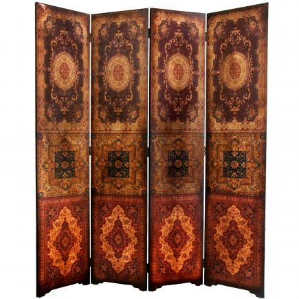 6 ft. Tall Olde-Worlde Baroque Room Divider | RoomDividers.com