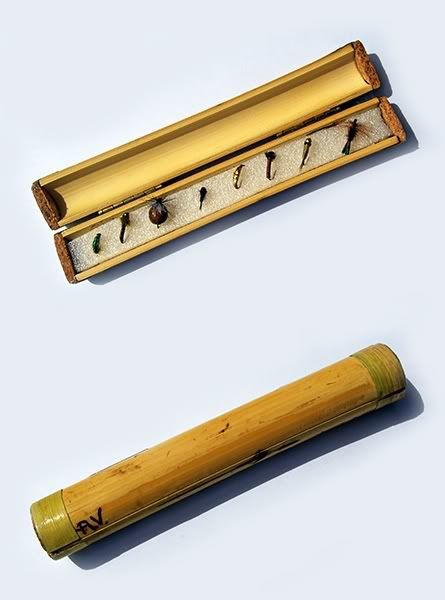 mini bamboo box