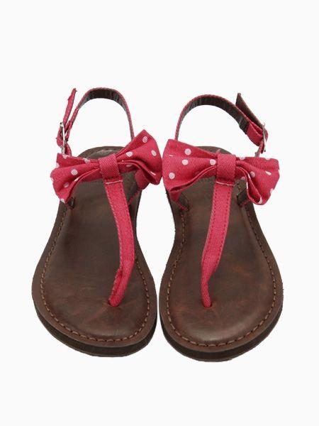 Bow Flat Sandals