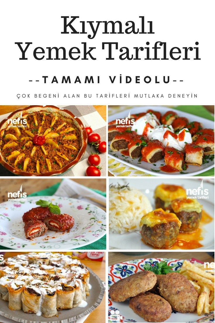 The most beautiful meat recipes are here! It's all ...