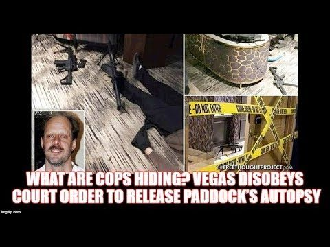What Are COPS Hiding? VEGAS Disobeys Court Order to Release Paddock's Au...