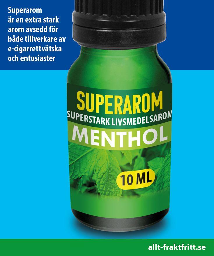 Superarom är en extra stark arom avsedd för både tillverkare av e-cigarrettvätska och entusiaster.