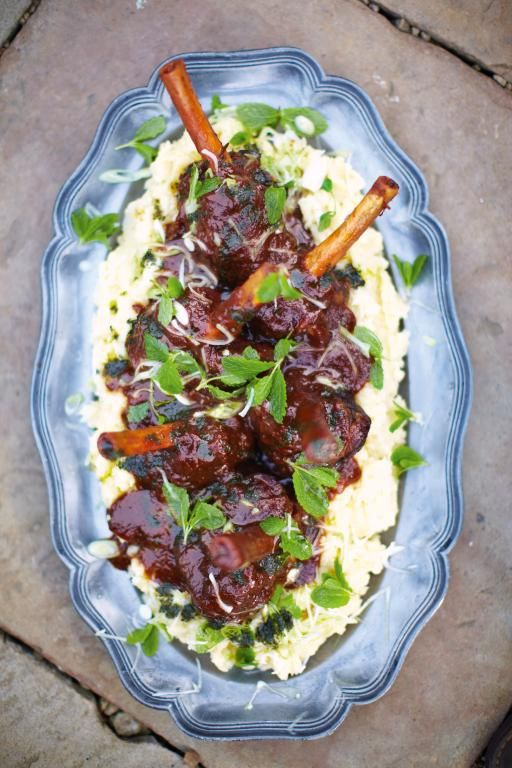 Guinness lamb shank | Jamie Oliver - My friend made this for me and it was so, so delicious!