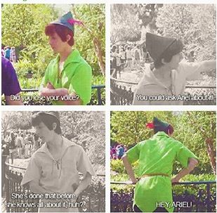I love peter pan