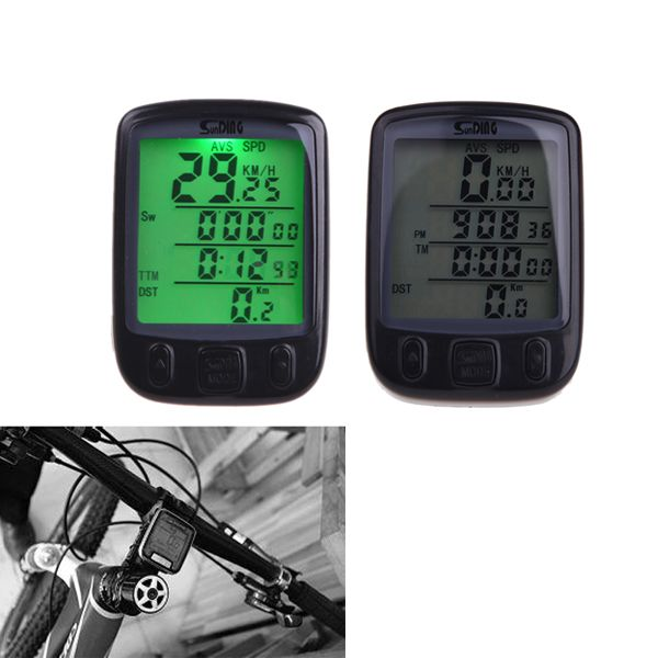 Waterproof 28 Multifunction Wireless  Cycling Computer Odometer Speedometer with