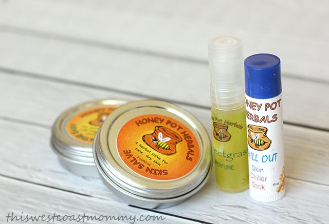 Honey Pot Herbal's prize package includes six sample size soaps of choice, two 1oz salves of choice and a free consultation with Registered Herbalist, Joanne Kewageshig.