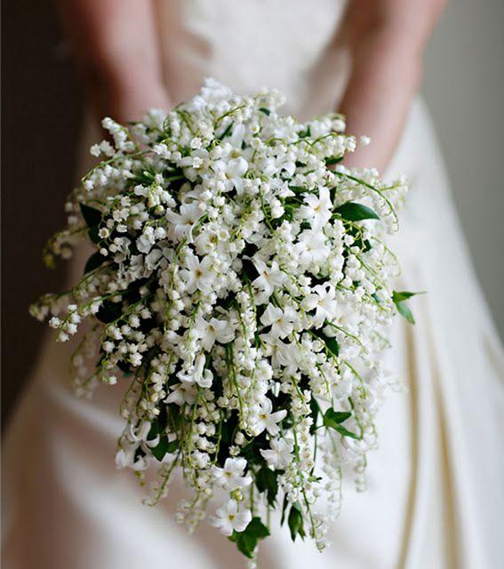 #Lily of the valley #bouquet: O muguet se tornou a flor emblemática da Maison Dior, por ser a preferida de Christian Dior.