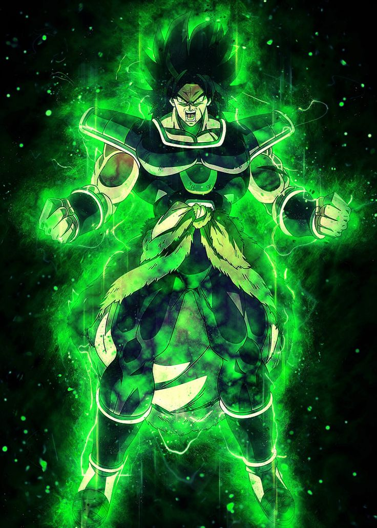 'the evil broly' Metal Poster Print El Rik Displate in