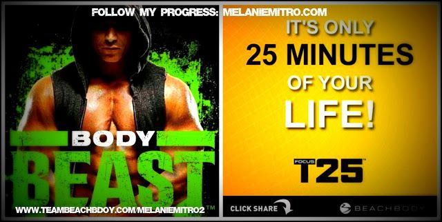 Committed to Get Fit: Week 1 Body Beast/T25 Hybrid and Meal Plan