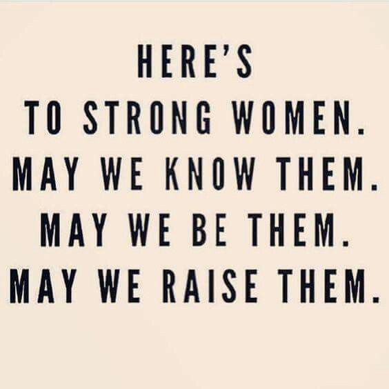 To Strong Women 💟💟💟
