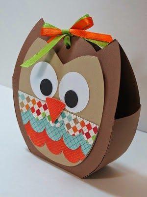 MissOwlCat: Kese Kağıdı ile Baykuş Örnekleri