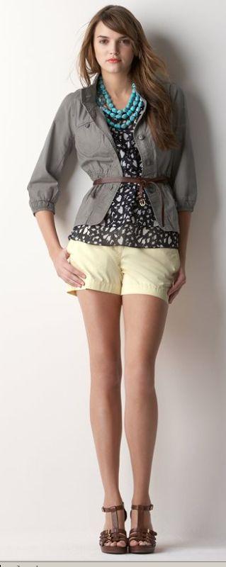 Sweetie Pie Style: Spring Wardrobe Inspiration: Anne Taylor Loft