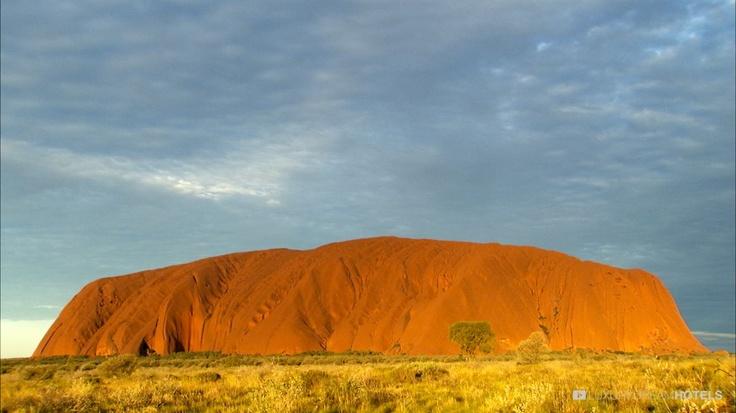 #Uluru Ayers Rock monolith - Longitude 131 Ayers Rock, #Australia #luxurydreamhotels
