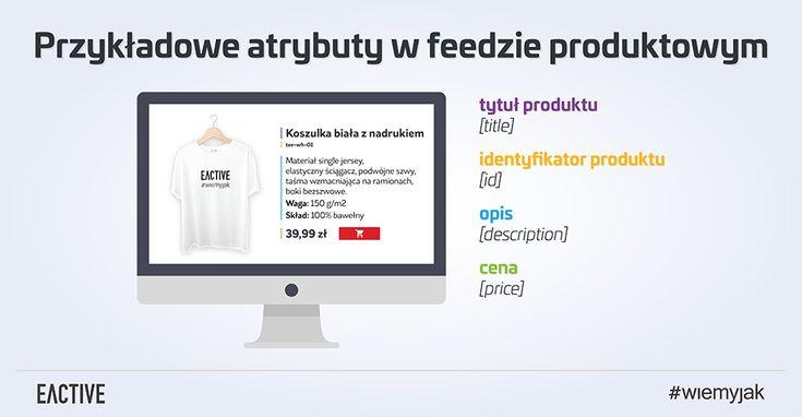 Poznaj przykładowe atrybuty w feedzie produktowym.