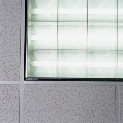 How to Make Your Own Fluorescent Light Diffuser Panels