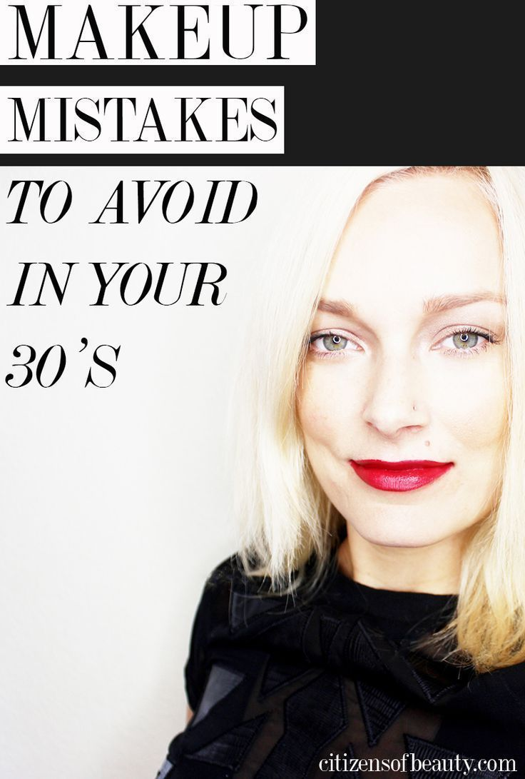 10 Makeup Mistakes You Make in Your Thirties #BeginnerMakeupKit