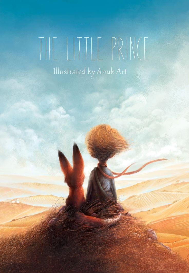 The Little Prince illustration by Ann Baratashvili