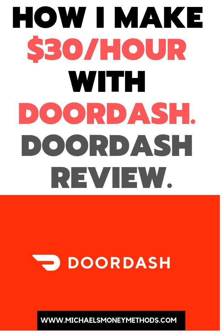 How I Make 30 Hour With Doordash Doordash Review Legit Online Jobs Doordash Online Side Hustle
